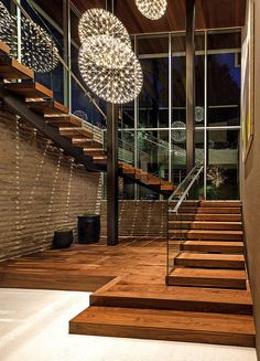 Modern Staircase Design Ideas - Stairs are so usual that you don't provide a second thought. Check out best 10 instances of modern staircase that are as sensational as they are . Home Stairs Design, Interior Stairs, Modern House Design, Home Interior Design, Escalier Design, House Stairs, Staircase Walls, Staircase Remodel, Grand Staircase