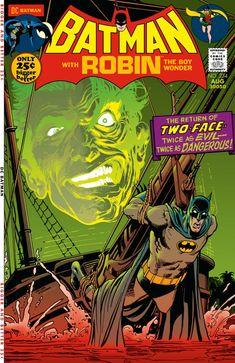 Batman No. 234 Cover by Neal Adams. Ink art re-creation by Jovi Neri, colour by Scott Dutton.