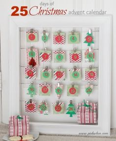 The 25 Days of Christmas Advent Calendar tutorial and promotion!