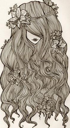 Flower Child - lovely illustration