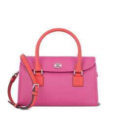 PREEEETTTTYYYY!!!!!  Loewe - alamo 28 bag magenta/coral