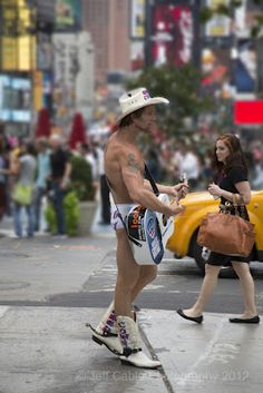 Naked Cowboy  Times Square NYC