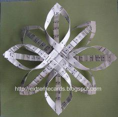 Sheet Music Carolina Snowflake.