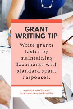 Grant Proposal Writing, Grant Writing, Writing Tips, Stress Less, Non Profit, Reuse, No Response, Life Hacks, Money