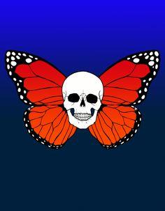 Skullerfly by Coral Sihaya