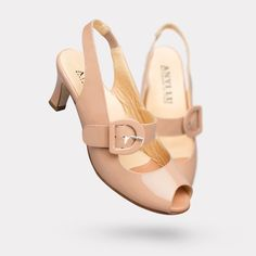 The Tulip - Bisque Patent On sale for $395. #AnyiLu #heels #fashion #shoes