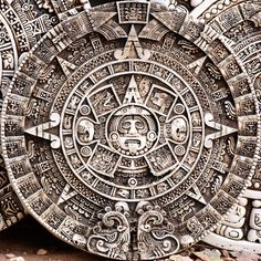 Aztec Calendar, the calendar mentions how the previous worlds ended and it also predicts the end of our world today.