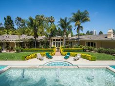 Celeb Digs - Simon Cowell Lists His Other Beverly Hills Mansion For $17.9 Million