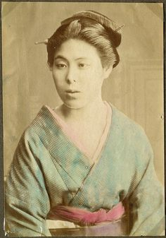 Woman, Japan  Photograph. Donated by principal Preben von Irgens-Bergh.