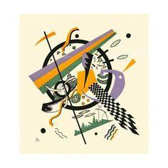 Art Print: Kleine Welten IV (Small Worlds IV), 1922 by Wassily Kandinsky : Wassily Kandinsky Obras, Kandinsky Art, Kandinsky Prints, National Gallery Of Art, Abstract Expressionism, Abstract Art, Art Database, Russian Art, Henri Matisse
