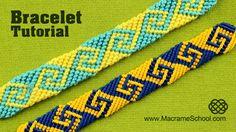 This is a different way how to make Greek wave Friendship bracelet. #FriendshipBracelet #Tutorial