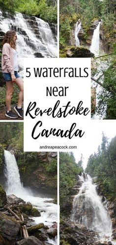 British Columbia, Canada is full of hundreds of incredible waterfalls. This Revelstoke, British Columbia waterfall guide includes 5 of those waterfalls. Historical Monuments, Historical Sites, Newfoundland Island, Places To Travel, Places To Visit, Montreal Botanical Garden, Canada Travel, Canada Canada, Visit Canada