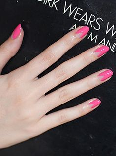 "Nail Art Of The Day: ""Pretty In Pink"" Nail Design"