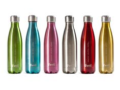 colorful insulated bottles. cute!