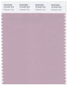 Pantone Smart 15-2705 TCX Color Swatch Card | Keepsake Lilac | Magazine Cafe Store NYC USA