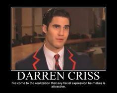 LOL...Darren Criss