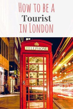 Wondering what to do when you visit London? Check out this tongue in cheek guide on how to be a tourist in London!