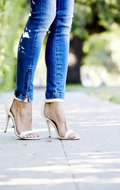 ankle strap sandals #style #fashion