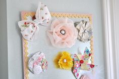 Love this idea for a magnet Bow keeper