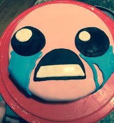 The Binding of Isaac cake #thebindingofisaac #birthdaycake
