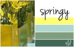 Springy color scheme.
