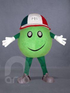 "Botarga ""Vota PRI"" ¡Conoce más botargas de partidos políticos y figuras humanas aquí! http://www.grupoarco.com.mx/venta-de-botargas/botargas-de-figuras-humanas-en-mexico/"