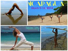 Gracious Living Yoga Surf Beauty Retreat: MARCH 9-16, 2014 NICARAGUA