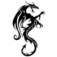 Car Decal - Dragon
