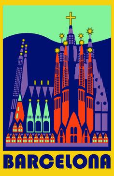 Barcelona ~ Spain ______________________________ Mer Méditerranée Clique aqui http://mundodeviagens.com/promocoes-de-viagens/ para aproveitar agora Viagens em Promoção!