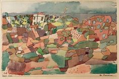 paul klee - from Taormina, 1924