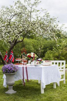 Pynt et vakkert festbord med blomster til 17. mai. https://www.mestergronn.no/