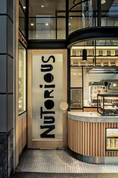 Nutorious, Sydney CBD. Design by Luchetti Krelle. Photography by Michael Wee.