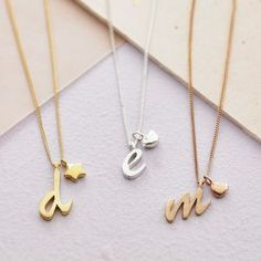 Personalised Letter Charm Necklace - gifts for her