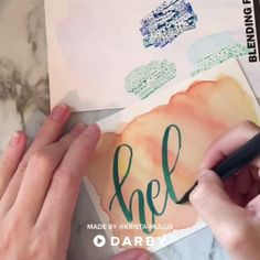 Watercolor Drip Pumpkin Decor Watercolor Drip Pumpkin Decor Related posts: How to Create Easy Pulled String Art DIY Pizza Magnets How to DIY Mod Podge Rock Salt Crystals … … Calligraphy Video, Calligraphy Handwriting, Calligraphy Letters, Modern Calligraphy, Penmanship, Cursive, Creative Lettering, Brush Lettering, Fancy Writing