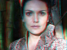 flavia lipi, reporter, brasil | Flickr – Compartilhamento de fotos! 3d anagliph photo, use red cian glasses to view