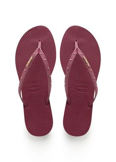 Havaianas You Maxi Sandal Beet  Price From: 53,06$CA  https://flopstore.ca/ca_french/new-arrivals/havaianas-you-maxi-sandal-beet.html
