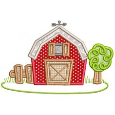 Sweet Farm Applique Machine Embroidery Designs By JuJu Embroidery Store, Border Embroidery, Embroidery Software, Embroidery Supplies, Free Machine Embroidery Designs, Applique Patterns, Quilt Patterns, Sewing Patterns, Quilting Designs