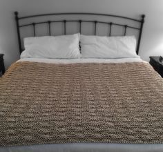 Pottery Barn Inspired Knit Throw