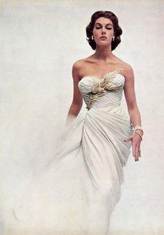 Dress by Jean Patou 1952