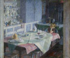 Kitchen at Myrtle Cottage by Dod Procter