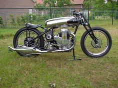 1933 Ariel Square Four Race, 500cc