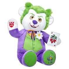 184768149db Build a Bear Joker DC Comics bear 2017 Build A Bear