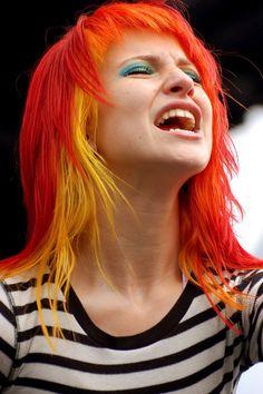 Yellow and orange, Hayley Williams