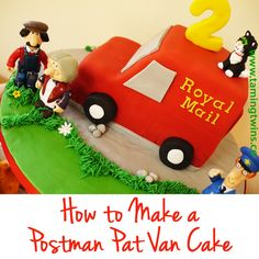Parents of Postman Pat loving toddlers. My step by step Postman Pat Van Cake tutorial with everything you need to know! Harry Birthday, 2 Birthday Cake, Boy Birthday, Birthday Ideas, Birthday Parties, Postman Pat Cake, Rocket Ship Cakes, Cooking With Toddlers, How To Cook Brisket
