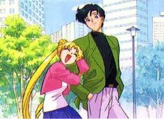 Sailor Moon and Tuxedo Mask - this makes me laugh so hard for reasons only @Alex Leichtman Parks will understand.