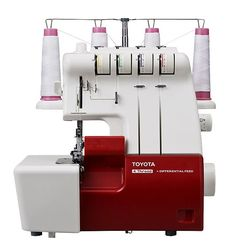 Our Popular Toyota Overlocker SLR4D - a good partner for your Oekaki machine and sewing projects