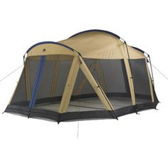 Ozark Trail Screenhouse, x with Convertible 6 Person Tent. huge screen house for a great price! Camping Games, Camping Gear, Outdoor Camping, Outdoor Gear, Camping Stuff, Off Road Camping, Family Camping, 6 Person Tent, Screen House
