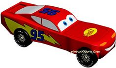 Time to start thinking about Pinewood Derby car designs....
