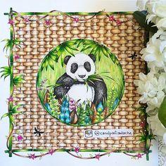 Inspirational Coloring Pages By Carolpafiadache Magicaljungle Johannabasford Selvamagica Livrosdecolorir Adultcoloring