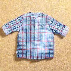 Grandpa Shirt Check Print